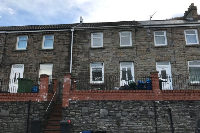Thumbnail Terraced house to rent in Cardiff Road, Merthyr Vale