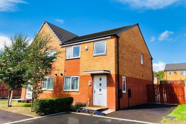 Thumbnail Flat to rent in Chassen Close, Beswick