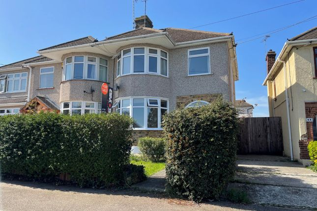 Thumbnail Semi-detached house for sale in Broadlands Avenue, Hockley, Essex