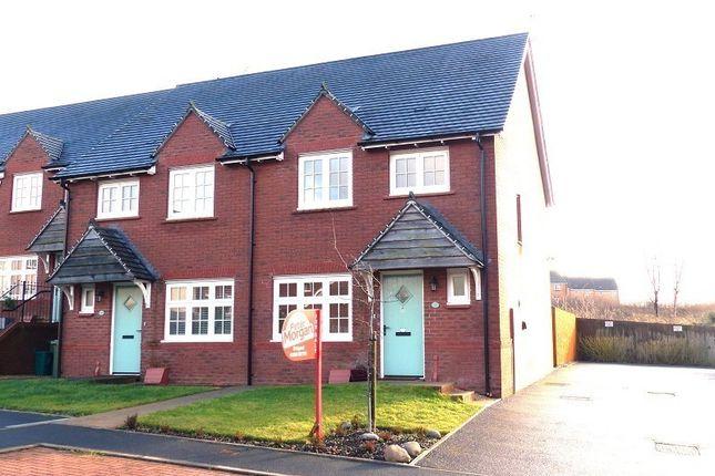 Thumbnail Semi-detached house for sale in Ffordd Dol Y Coed, Llanharan, Pontyclun, Bridgend, Rhondda Cynon Taff.