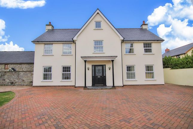 Thumbnail Detached house for sale in Eglwys Nunnydd, Port Talbot