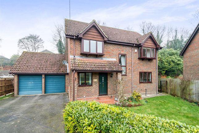 Thumbnail Detached house for sale in Glebe Meadow, Overton, Basingstoke