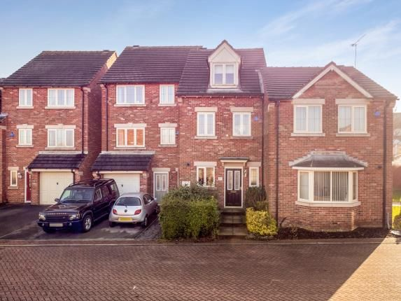 Thumbnail Terraced house for sale in Butlerwood Close, Kirkby In Ashfield, Nottingham, Nottinghamshire