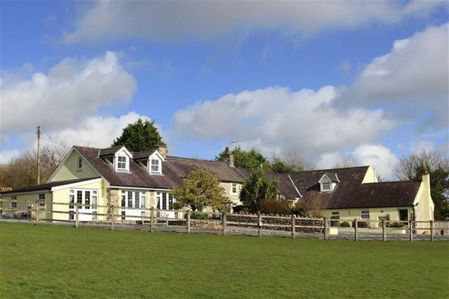 Thumbnail Detached house for sale in Amroth Road, Llanteg, Narberth