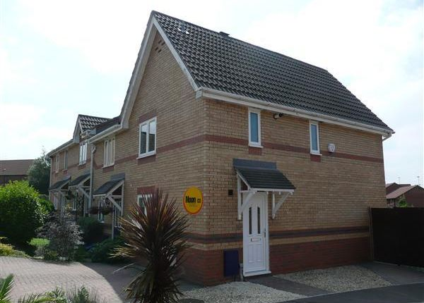 Thumbnail End terrace house to rent in Garvey Close, Thornwell, Chepstow