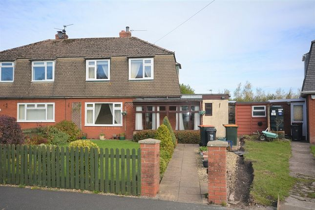Thumbnail Semi-detached house for sale in St. Peters Crescent, Peterstone Wentlooge, Cardiff.