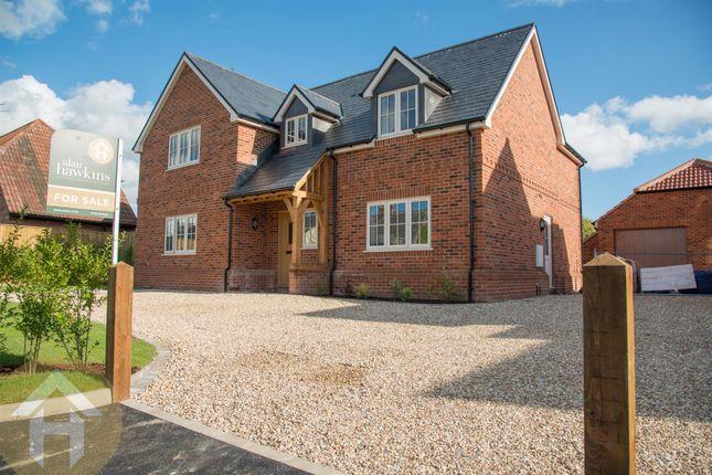 Thumbnail Detached house for sale in Bradenstoke, Chippenham
