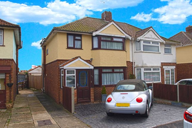 Thumbnail Semi-detached house for sale in Ramsey Road, Ramsey, Harwich