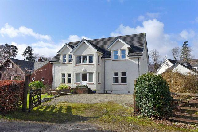 Thumbnail Detached house for sale in Fairbourne, Auchrannie Road, Brodick