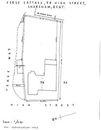 Site Plan.Png of High Street, Shoreham, Sevenoaks TN14