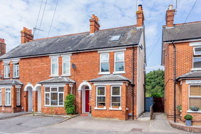 Thumbnail End terrace house for sale in Rectory Road, Farnborough, Hampshire