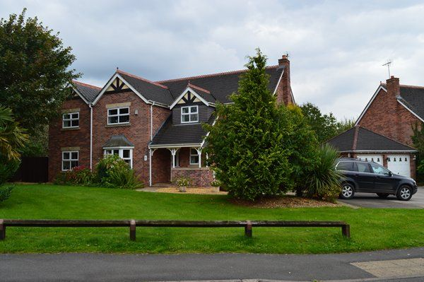 Thumbnail Detached house for sale in Hampton Drive, Market Drayton