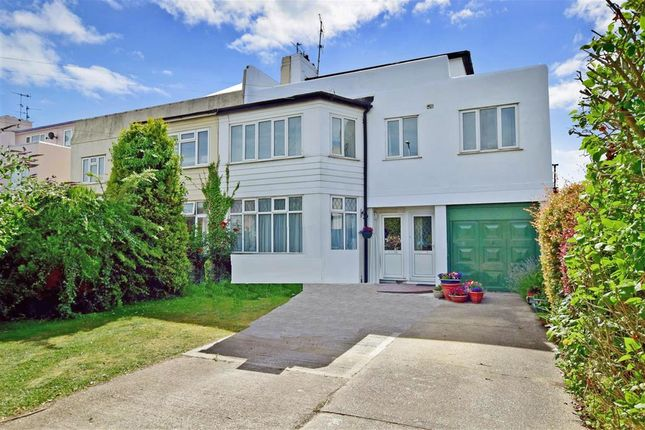 Thumbnail Maisonette for sale in Shaftesbury Avenue, Goring-By-Sea, Worthing, West Sussex