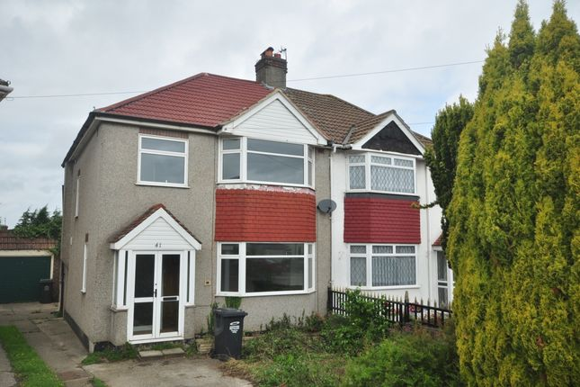 Thumbnail Semi-detached house to rent in Clarendon Gardens, Dartford