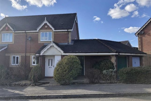 Thumbnail Semi-detached house for sale in Webbington Road, Pewsham, Chippenham, Wiltshire