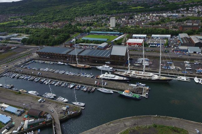 Thumbnail Commercial property to let in James Watt Dock, Riverside Inverclyde, Greenock