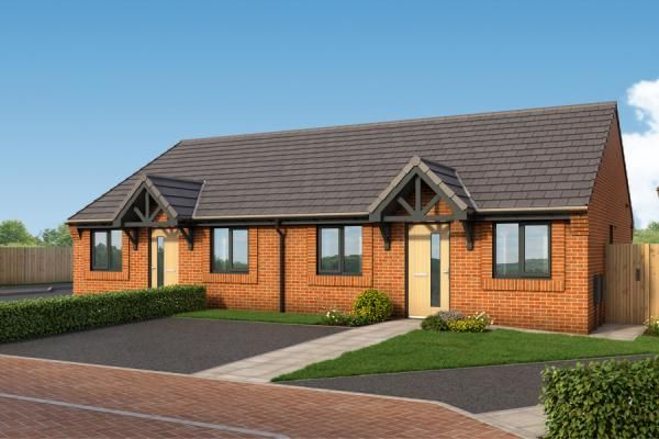 """Thumbnail Bungalow for sale in """"The Malvern At Woodford Grange """" at Woodford Lane West, Winsford"""