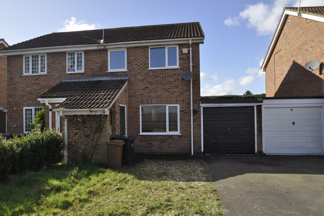 Thumbnail Semi-detached house to rent in Camellia Close, Three Legged Cross, Wimborne