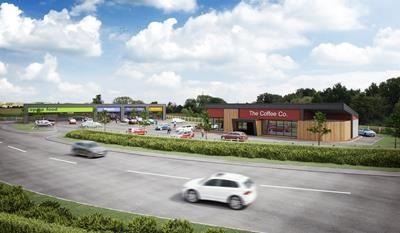 Thumbnail Retail premises to let in Drive-Thru & Retail Units, Hawke Ridge Business Park, Hawke Ridge, Westbury, Wiltshire