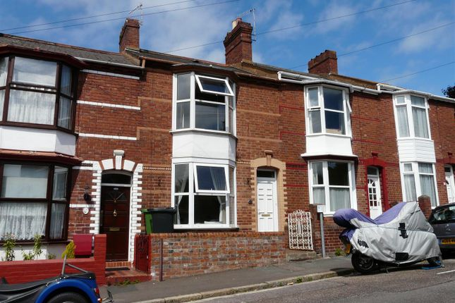 Thumbnail Terraced house to rent in Weirfield Road, St. Leonards, Exeter