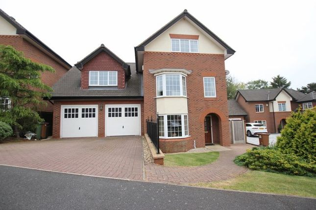 Thumbnail Detached house for sale in The Pipers, Heswall, Wirral