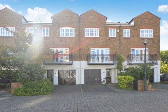 Thumbnail Terraced house to rent in Princes Riverside Road, London