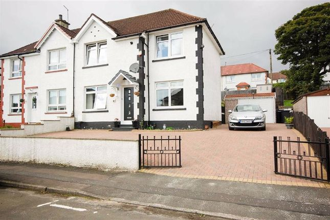 Thumbnail Semi-detached house for sale in Birch Road, Clydebank