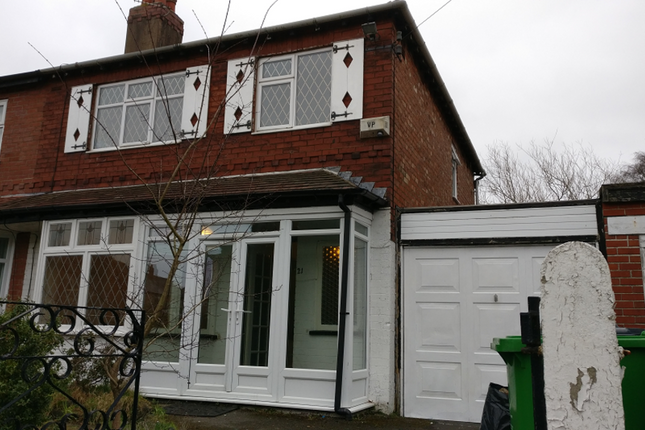 Thumbnail Semi-detached house to rent in Lambton Road, Chorlton, Manchester