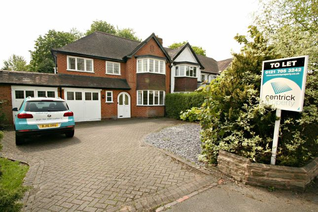 Thumbnail Detached house to rent in Streetsbrook Road, Solihull