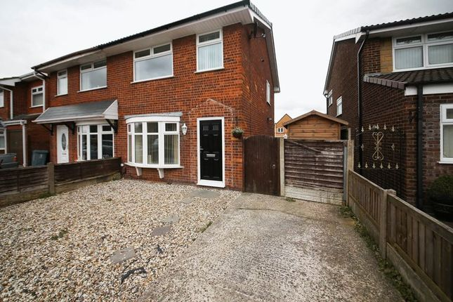 Thumbnail Semi-detached house for sale in Salesbury Way, Wigan