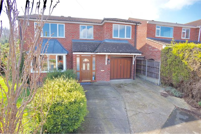 Thumbnail Detached house for sale in Norwich Close, Washingborough