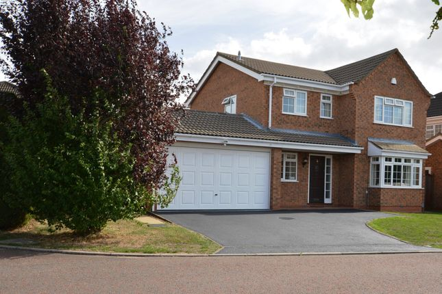 Thumbnail Detached house for sale in Wisley Close, East Hunsbury, Northampton