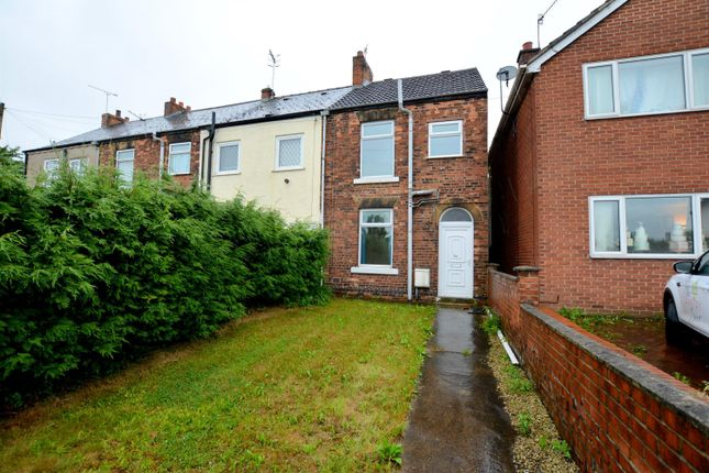Thumbnail End terrace house to rent in Chesterfield Road, Staveley, Chesterfield