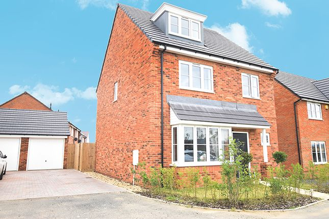 Thumbnail Detached house for sale in Spiers Crescent, Evesham, Worcestershire
