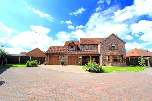 Thumbnail Detached house for sale in Waggoners Close, Scotter, Gainsborough