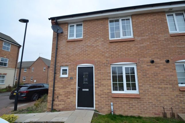 Thumbnail Property to rent in Chepstow Drive, Elsea Park, Bourne