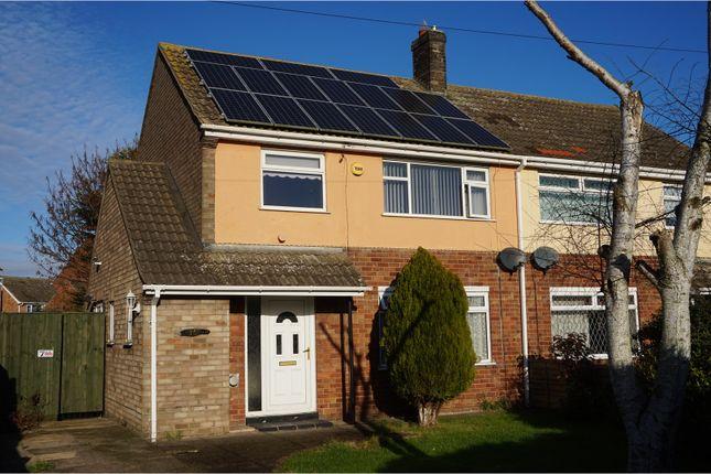 Thumbnail Semi-detached house for sale in Pilgrim Avenue, Immingham