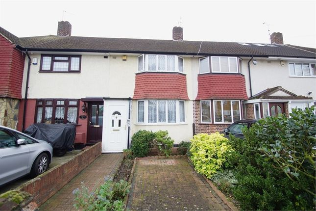Thumbnail Terraced house for sale in Holbeach Gardens, Sidcup, Kent