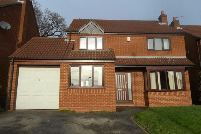 Thumbnail Detached house to rent in Buckminster Close, Oakwood, Derby