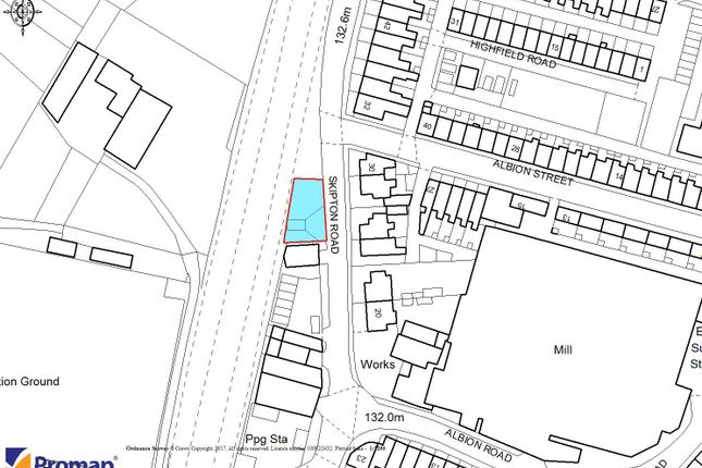 Thumbnail Land for sale in Skipton Road, Earby, Lancashire