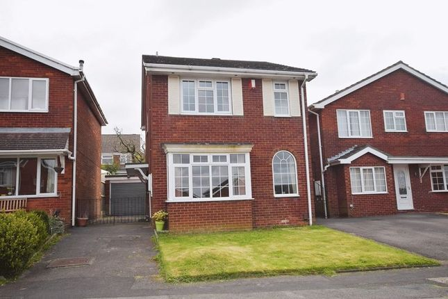 Thumbnail Detached house for sale in Penmere Drive, Werrington, Stoke-On-Trent