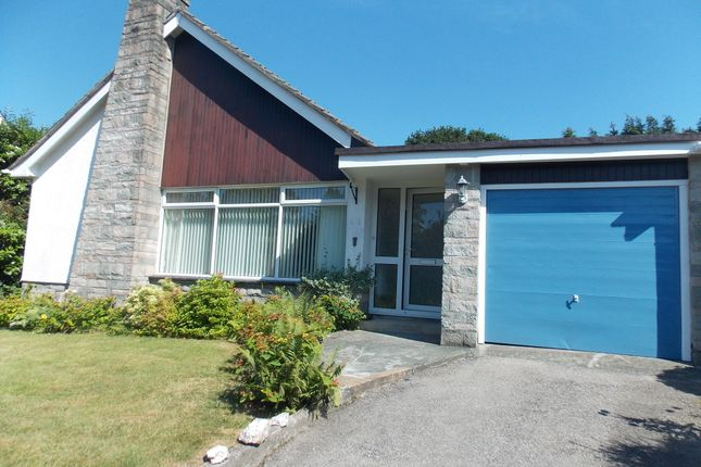 Thumbnail Detached bungalow to rent in Woburn Road, Launceston, Cornwall