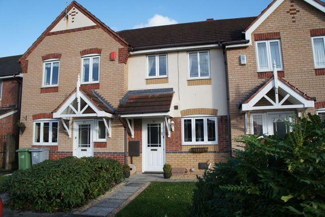 Thumbnail Terraced house to rent in Kensington Drive, Congleton