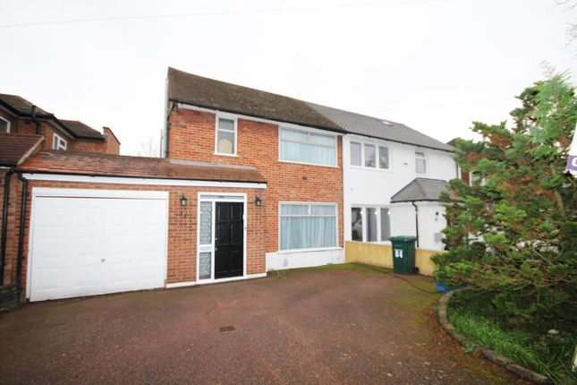 Thumbnail Semi-detached house for sale in Wolmer Gardens, Edgware, Middlesex