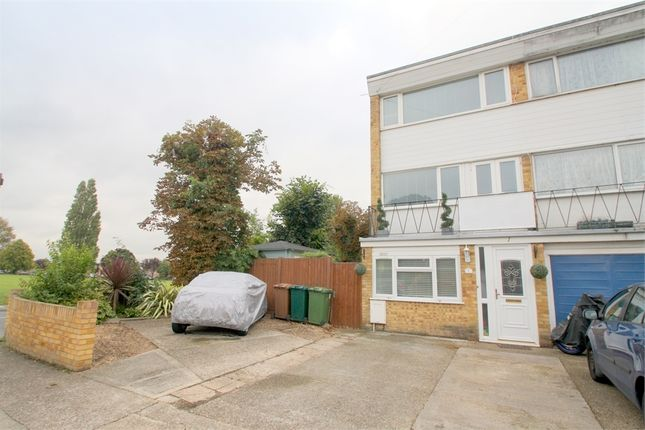 Thumbnail End terrace house for sale in Atherton Close, Stanwell, Staines-Upon-Thames, Surrey