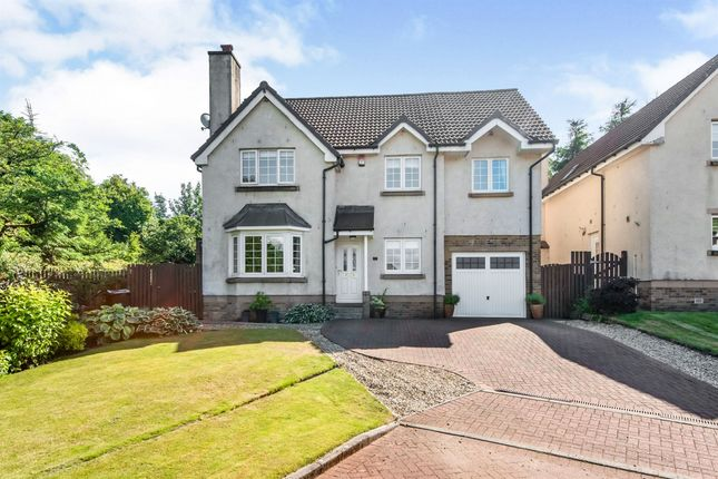 Thumbnail Detached house for sale in Brodick Place, Newton Mearns, Glasgow