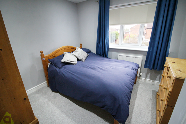Bedroom Three of Churnet Close, Westhoughton BL5