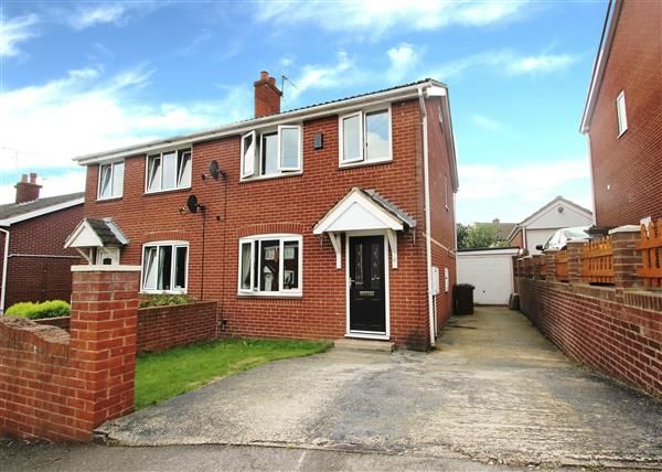 Thumbnail Semi-detached house for sale in Rosedale Close, Upton, Pontefract