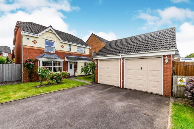 Thumbnail Detached house for sale in Rushes Mill, Pelsall, Walsall, West Midlands