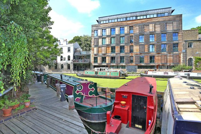 Thumbnail Houseboat for sale in Berth 4 Wenlock Basin, Wharf Road, London